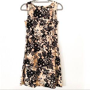 Tabitha A-Line MIDI Floral Dress